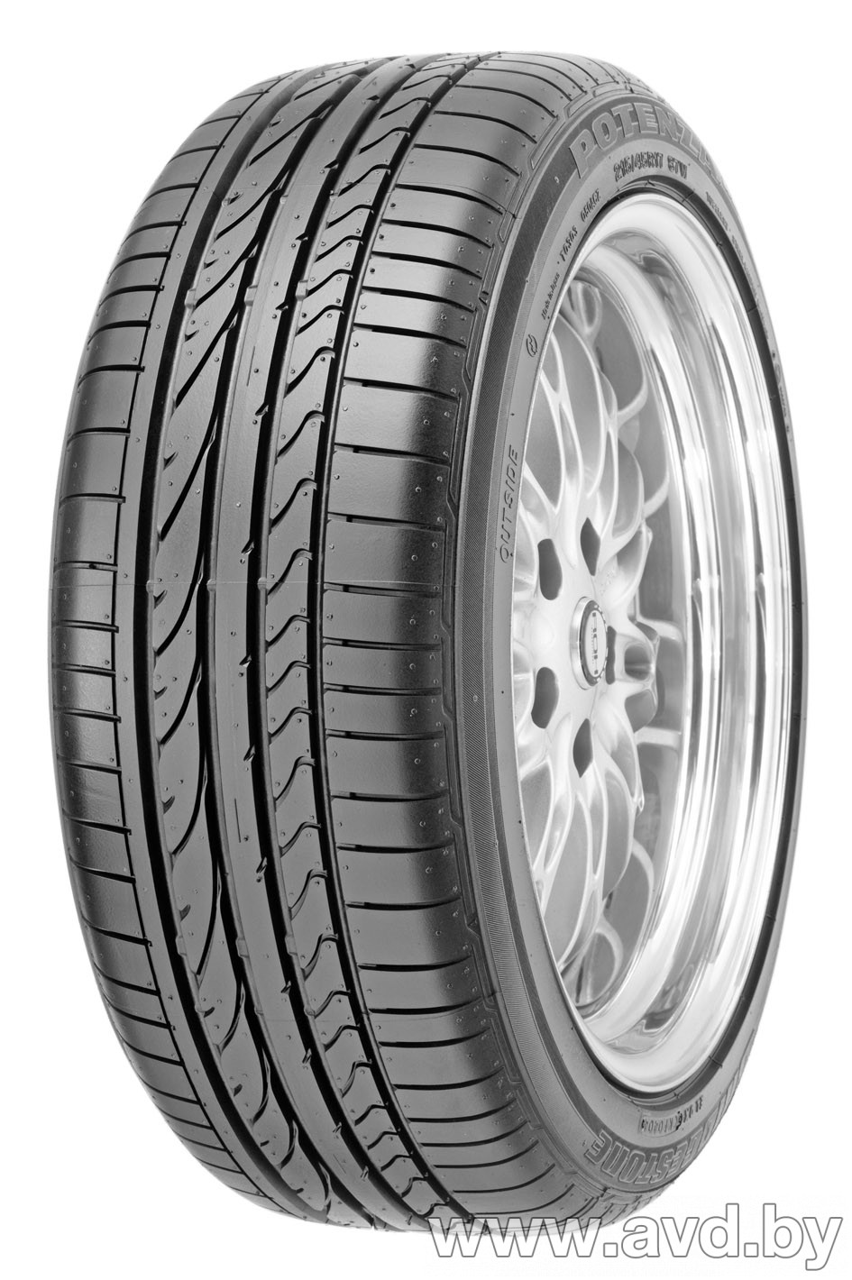 Купить Шины Bridgestone Potenza RE050A 275/35R18 95Y (run-flat)  в Минске.