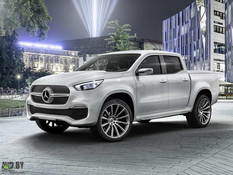 X-Class, avd, авд бай, новые автомобили, Мерседес, Mercedes-Benz, Mercedes-Benz X-Class